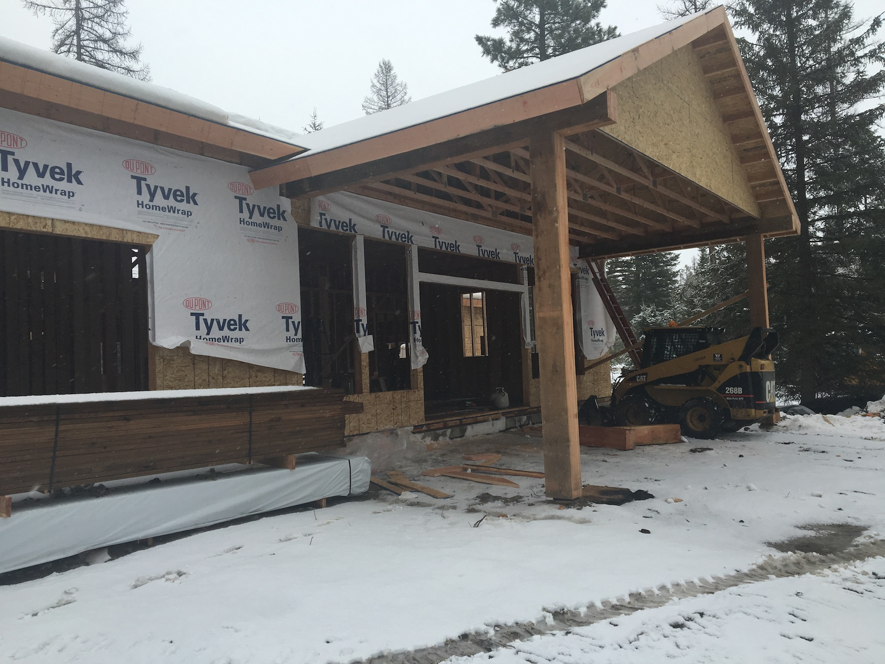 #buildwhitefish Barrongwhitefish montana home from old montana building company oldmt.com