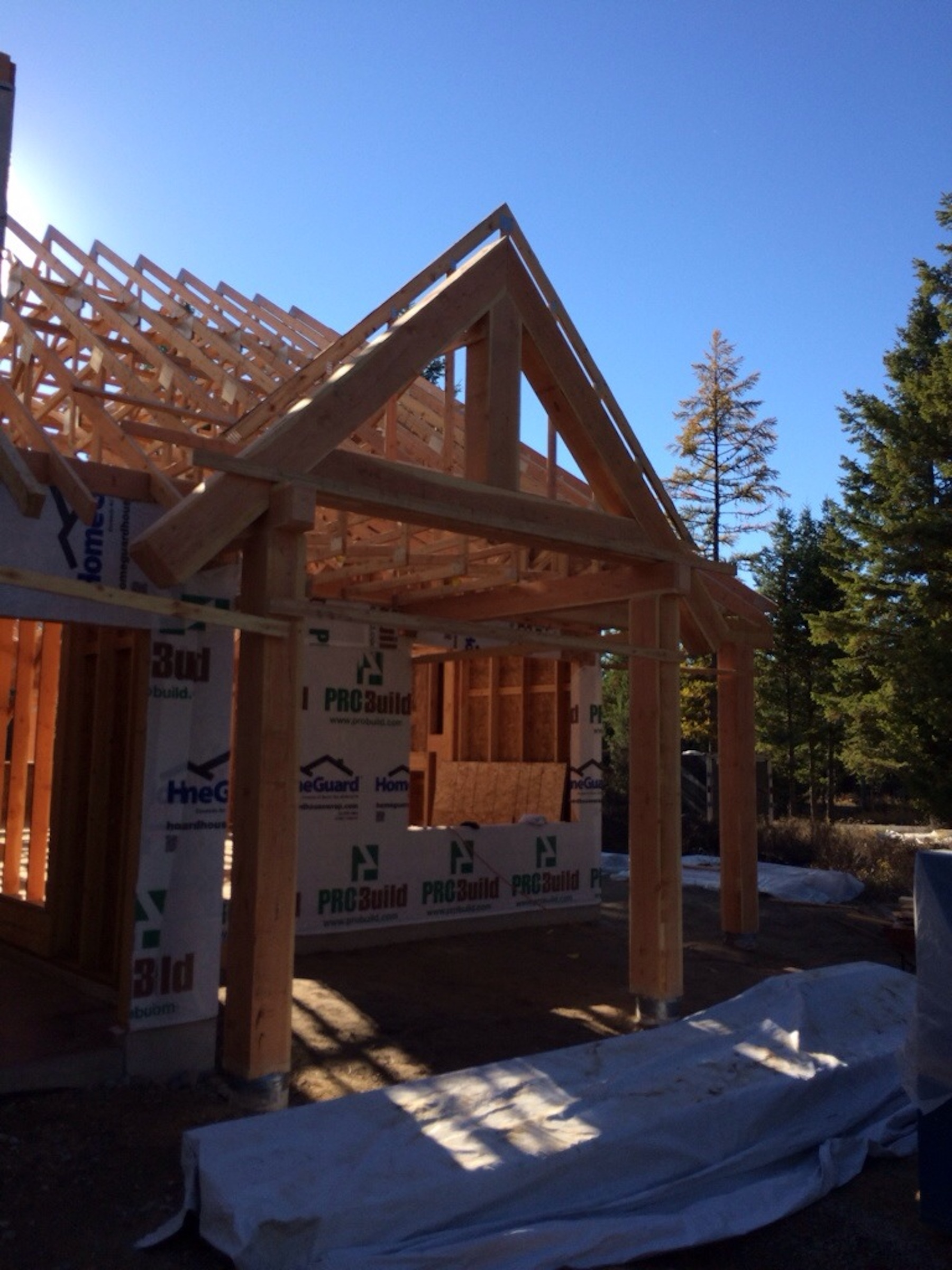 #buildwhitefish Breaultwhitefish montana home from old montana building company oldmt.com